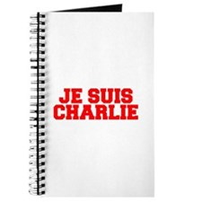 Je suis Charlie-Fre red Journal