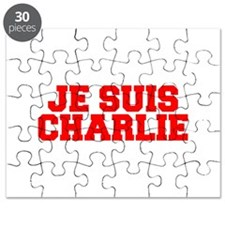 Je suis Charlie-Fre red Puzzle
