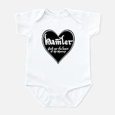 Heart Hamlet  Infant Bodysuit