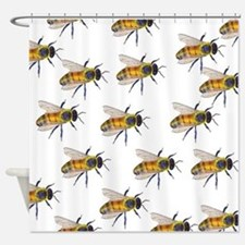 Swarm Shower Curtain