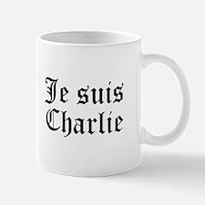 Je suis Charlie-Old black Mugs