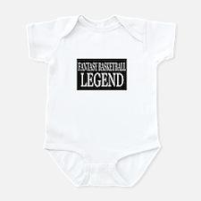 """""""Fantasy Basketball Legend"""" Infant Bodysuit"""