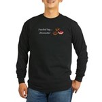 Fueled by Donuts Long Sleeve Dark T-Shirt