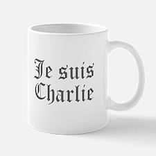 Je suis Charlie-Old gray Mugs
