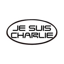 Je suis Charlie-Sav black Patches