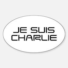 Je suis Charlie-Sav black Decal