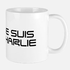 Je suis Charlie-Sav black Mugs