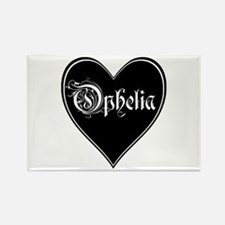 Heart Ophelia Rectangle Magnet