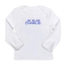 Je suis Charlie-Sav blue Long Sleeve T-Shirt