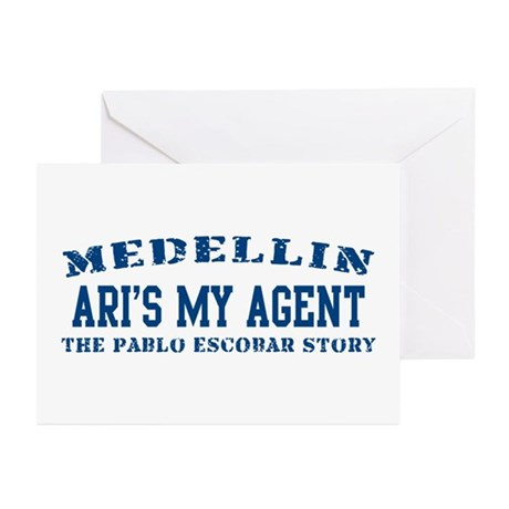 Ari's My Agent - Medellin Greeting Cards (Package