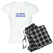 Je suis Charlie-Var blue Pajamas