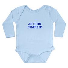Je suis Charlie-Var blue Body Suit