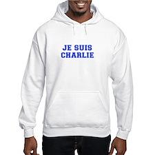 Je suis Charlie-Var blue Hoodie