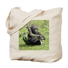 Lovely Gorilla Baby Tote Bag