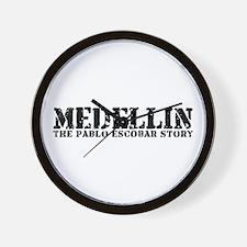Medellin - The Pablo Escobar Story Wall Clock
