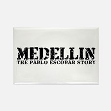 Medellin - The Pablo Escobar Story Rectangle Magne