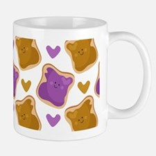 Kawaii PBJ Pattern Small Small Mug