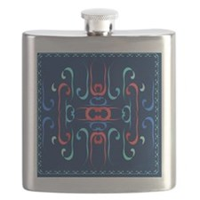 Elegant Streamers Flask
