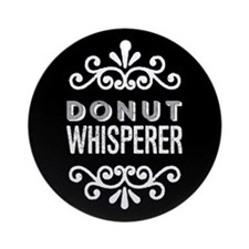 Donut Whisperer Ornament (Round)