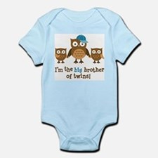 Cute Big brother owl Infant Bodysuit
