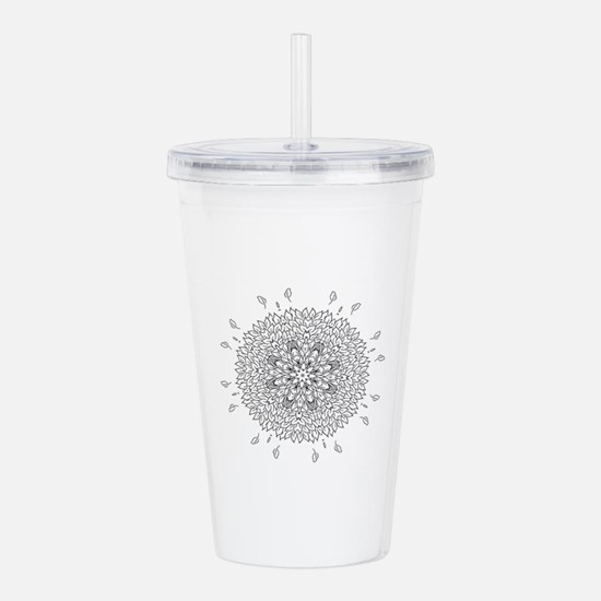 Cute Color your own Acrylic Double-wall Tumbler