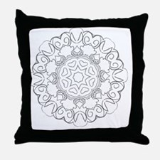 Color your own Throw Pillow