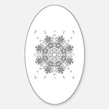 Color your own Sticker (Oval)
