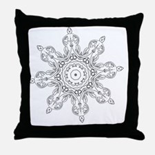 Cool Color your own Throw Pillow