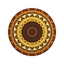 """del Sol Mandala 3.5"""" Button"""