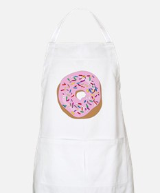 Pink Donut with Sprinkles Apron