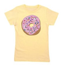 Pink Donut with Sprinkles Girl's Tee