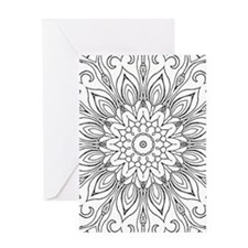 Cool Coloring book Greeting Card