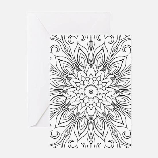 Cool Color your own Greeting Card