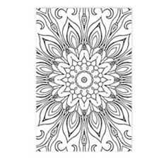 Cute Color your own Postcards (Package of 8)