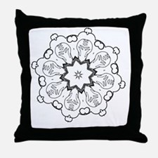 Cute Color your own Throw Pillow