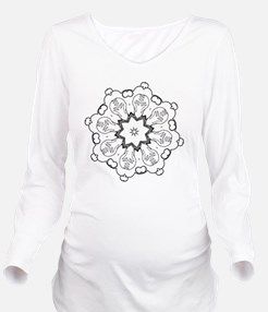 Color your own Long Sleeve Maternity T-Shirt