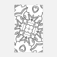 Cool Color your own Sticker (Rectangle)