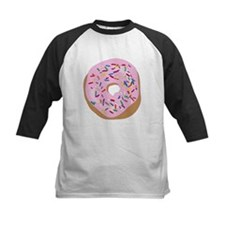 Pink Donut with Sprinkles Baseball Jersey