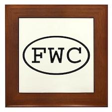 FWC Oval Framed Tile