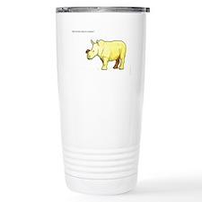 Cute Rhino Travel Mug
