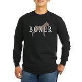 Boxer dog Long Sleeve T Shirts