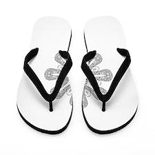 Beautiful and Meditative Zen Designs Flip Flops