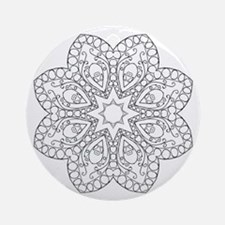 Beautiful and Meditative Zen Desi Ornament (Round)