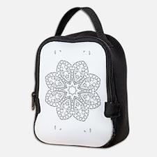 Beautiful and Meditative Zen De Neoprene Lunch Bag