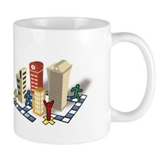 Urban Adventure Quest Logo Small Mug