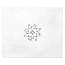 Beautiful and Meditative Zen Designs King Duvet