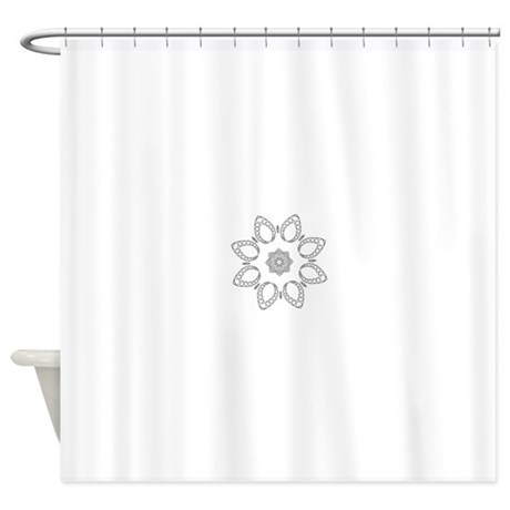 and meditative zen design shower curtain by admin cp127637975