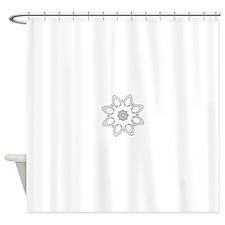 Beautiful and Meditative Zen Design Shower Curtain