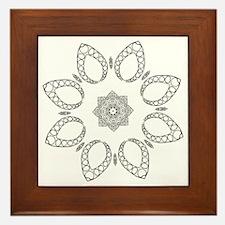 Beautiful and Meditative Zen Designs Framed Tile
