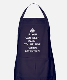 Not Paying Attention Apron (dark)